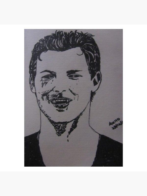 artwork Offical Vampire Diaries Merch
