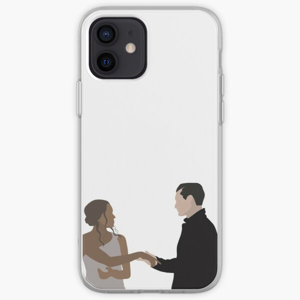 Bonnie and Enzo | TVD iPhone Soft Case RB2904product Offical Vampire Diaries Merch
