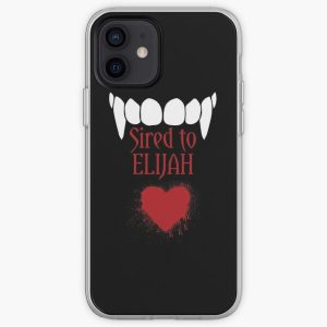 I'm sired to Elijah! iPhone Soft Case RB2904product Offical Vampire Diaries Merch