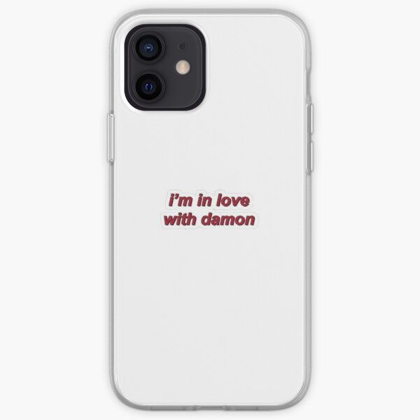 I'm in love with Damon iPhone Soft Case RB2904product Offical Vampire Diaries Merch
