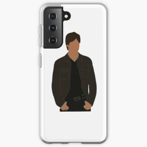 damon salvatore drawing  Samsung Galaxy Soft Case RB2904product Offical Vampire Diaries Merch