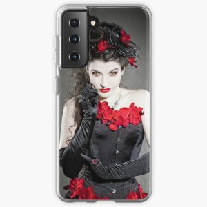 Red Orchids Samsung Galaxy Soft Case RB2904product Offical Vampire Diaries Merch