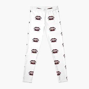Vampire mouth is dotted Leggings RB2904product Offical Vampire Diaries Merch