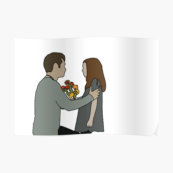 Klaus & Hope Poster RB2904product Offical Vampire Diaries Merch
