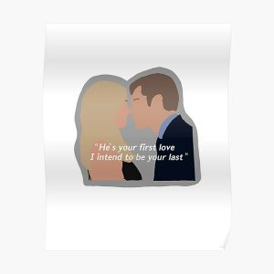 Klaus and Caroline Poster RB2904product Offical Vampire Diaries Merch