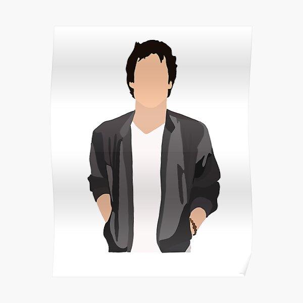 Ian Somerhalder (Damon Salvatore) Poster RB2904product Offical Vampire Diaries Merch