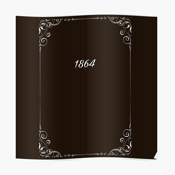1864 Stefan Salvatore diary  Poster RB2904product Offical Vampire Diaries Merch