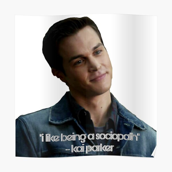 Kai Parker  Poster RB2904product Offical Vampire Diaries Merch