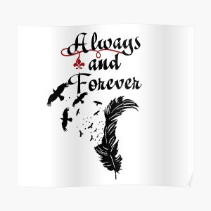 Always and Forever  Poster RB2904product Offical Vampire Diaries Merch
