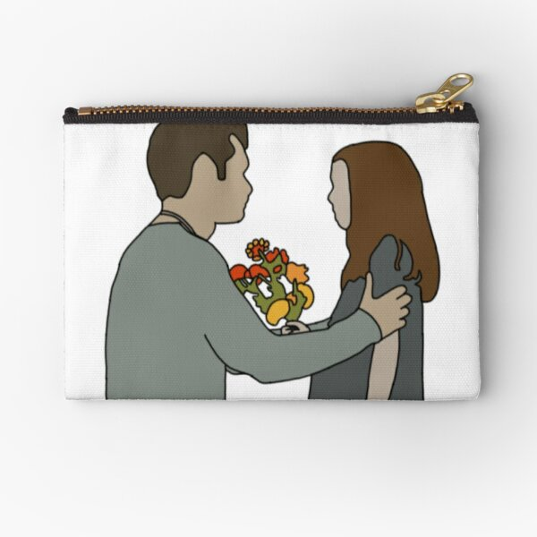 Klaus & Hope Zipper Pouch RB2904product Offical Vampire Diaries Merch