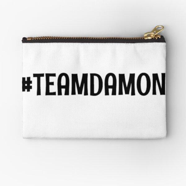 Team Damon Zipper Pouch RB2904product Offical Vampire Diaries Merch