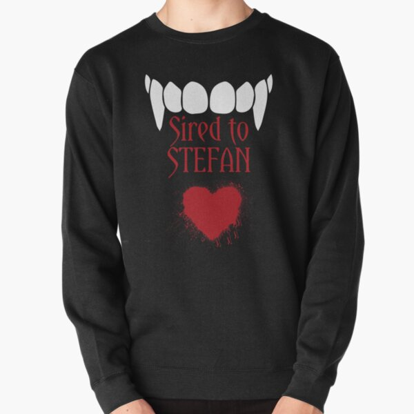 I'm sired to Stefan! Pullover Sweatshirt RB2904product Offical Vampire Diaries Merch