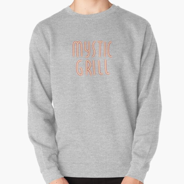 Mystic Grill Neon Sign Pullover Sweatshirt RB2904product Offical Vampire Diaries Merch