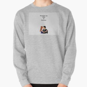 Damon and elena  Pullover Sweatshirt RB2904product Offical Vampire Diaries Merch