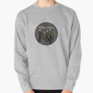 The Originals logo with characters Pullover Sweatshirt RB2904product Offical Vampire Diaries Merch