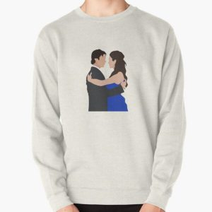 Damon and Elena first dance | TVD Pullover Sweatshirt RB2904product Offical Vampire Diaries Merch