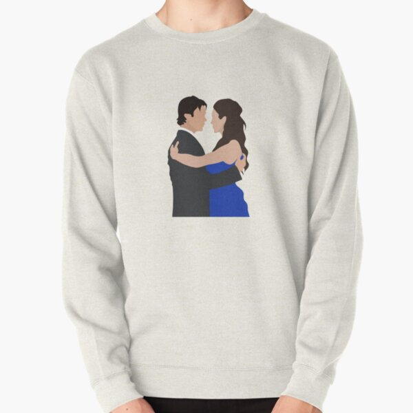 Damon and Elena first dance   TVD Pullover Sweatshirt RB2904product Offical Vampire Diaries Merch