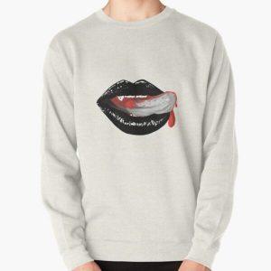 Vampire Black Lips Pullover Sweatshirt RB2904product Offical Vampire Diaries Merch