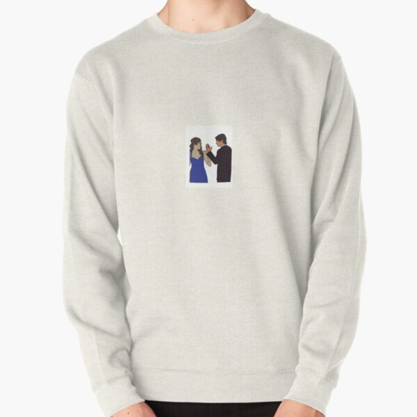 Delena Sticker Pullover Sweatshirt RB2904product Offical Vampire Diaries Merch