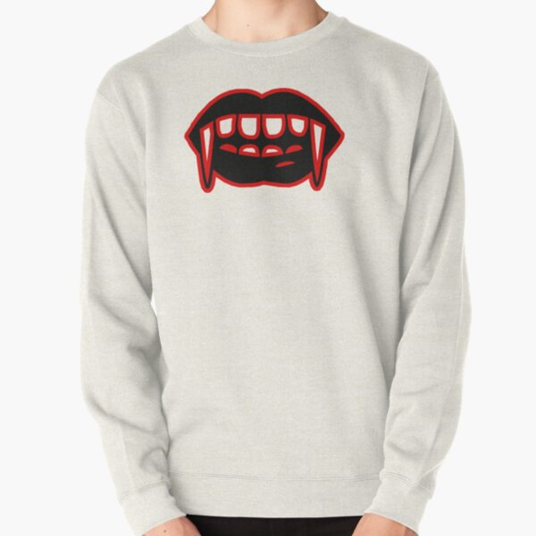 Red vampire Pullover Sweatshirt RB2904product Offical Vampire Diaries Merch