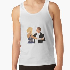 klaus and caroline  Tank Top RB2904product Offical Vampire Diaries Merch