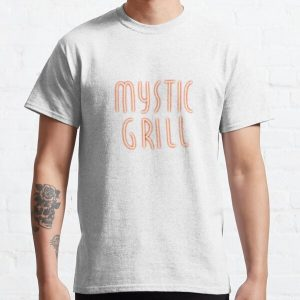 Mystic Grill Neon Sign Classic T-Shirt RB2904product Offical Vampire Diaries Merch