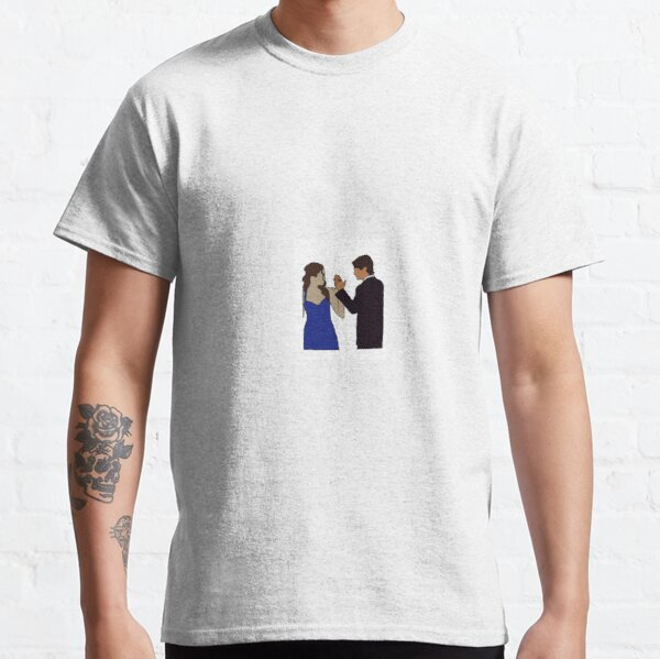 Delena Sticker Classic T-Shirt RB2904product Offical Vampire Diaries Merch