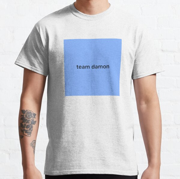 Team Damon Classic T-Shirt RB2904product Offical Vampire Diaries Merch