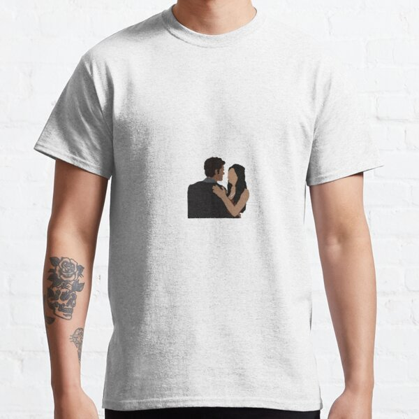 stelena drawing Classic T-Shirt RB2904product Offical Vampire Diaries Merch