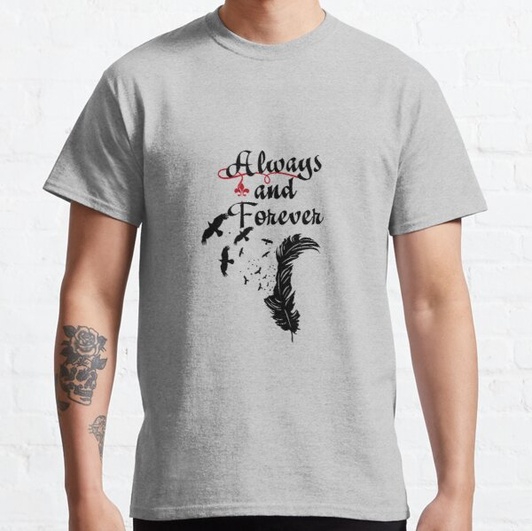 Always and Forever  Classic T-Shirt RB2904product Offical Vampire Diaries Merch