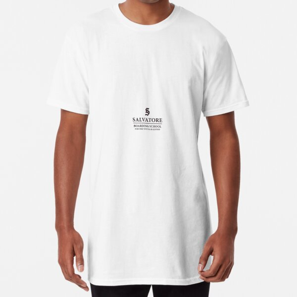 salvatore boarding school merch. Long T-Shirt RB2904product Offical Vampire Diaries Merch