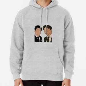 Stefan and Damon in suits  Pullover Hoodie RB2904product Offical Vampire Diaries Merch