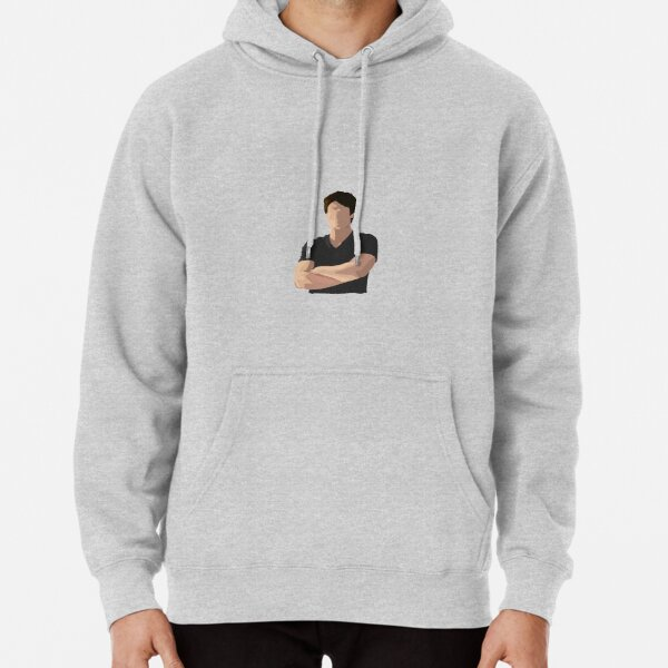 Damon Salvatore Sticker Pullover Hoodie RB2904product Offical Vampire Diaries Merch