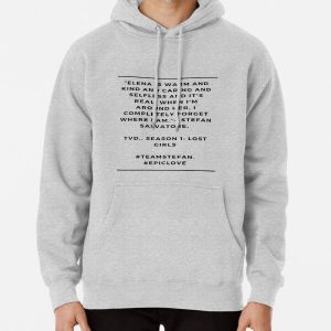 TVD.  STEFAN AND ELENA Pullover Hoodie RB2904product Offical Vampire Diaries Merch
