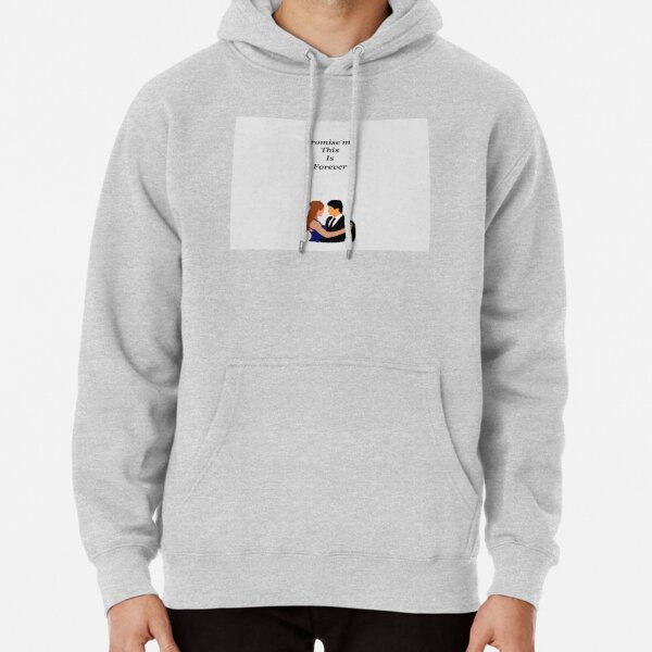 Damon and elena Pullover Hoodie RB2904product Offical Vampire Diaries Merch