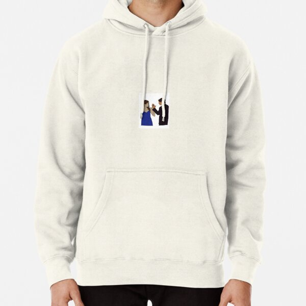 Delena Sticker Pullover Hoodie RB2904product Offical Vampire Diaries Merch