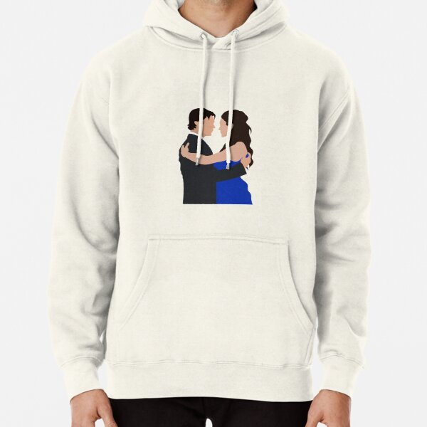 Damon and Elena first dance | TVD Pullover Hoodie RB2904product Offical Vampire Diaries Merch