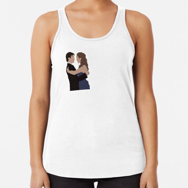 #Delena Racerback Tank Top RB2904product Offical Vampire Diaries Merch
