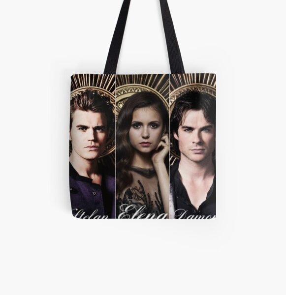 Tvd Cast Photoshoot All Over Print Tote Bag RB2904product Offical Vampire Diaries Merch