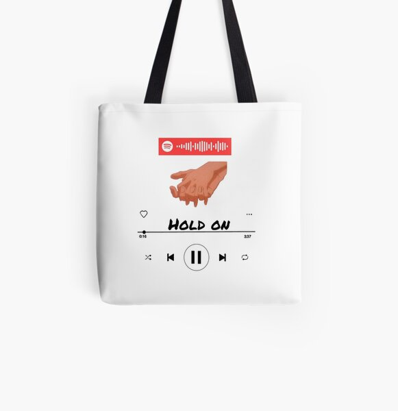 Hold on  All Over Print Tote Bag RB2904product Offical Vampire Diaries Merch