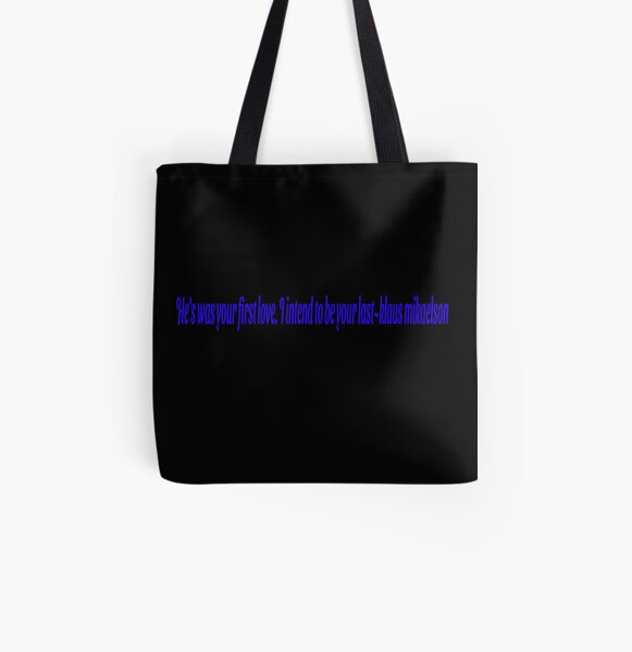 Klaus Mikaelson Quote All Over Print Tote Bag RB2904product Offical Vampire Diaries Merch
