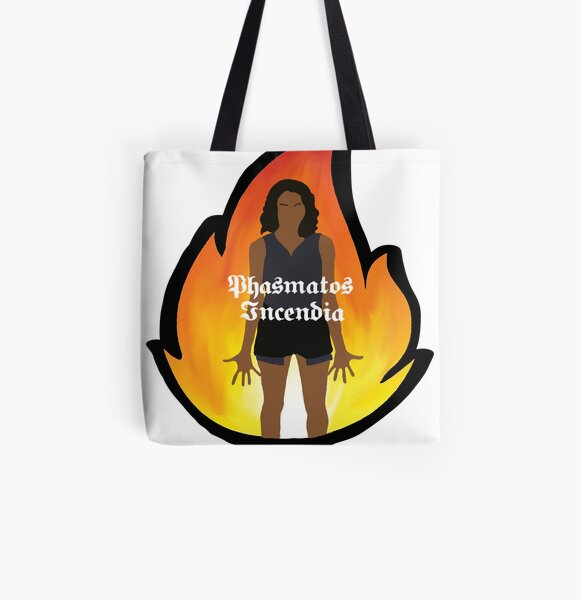 Bonnie Bennett Spells All Over Print Tote Bag RB2904product Offical Vampire Diaries Merch