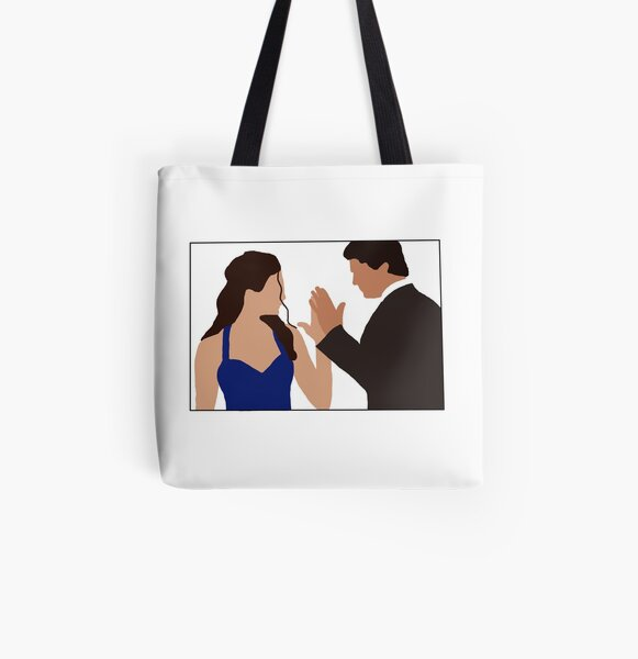 TVD: Delena All Over Print Tote Bag RB2904product Offical Vampire Diaries Merch