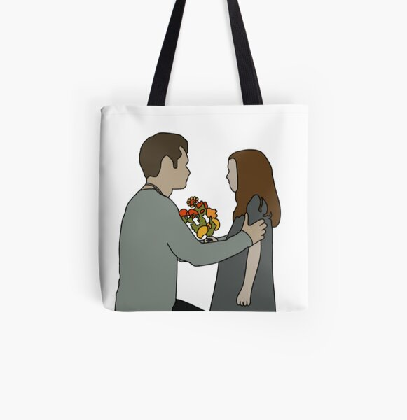 Klaus & Hope All Over Print Tote Bag RB2904product Offical Vampire Diaries Merch