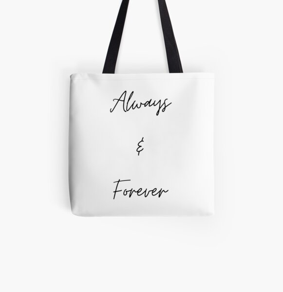 Always & Forever All Over Print Tote Bag RB2904product Offical Vampire Diaries Merch