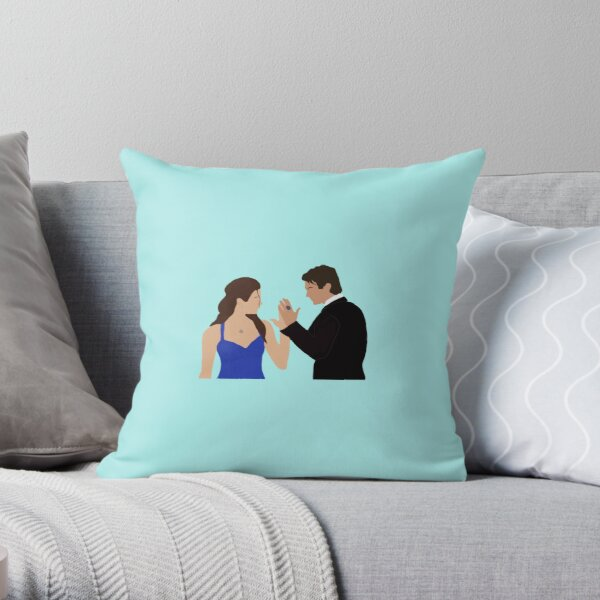 Delena PNG Throw Pillow RB2904product Offical Vampire Diaries Merch
