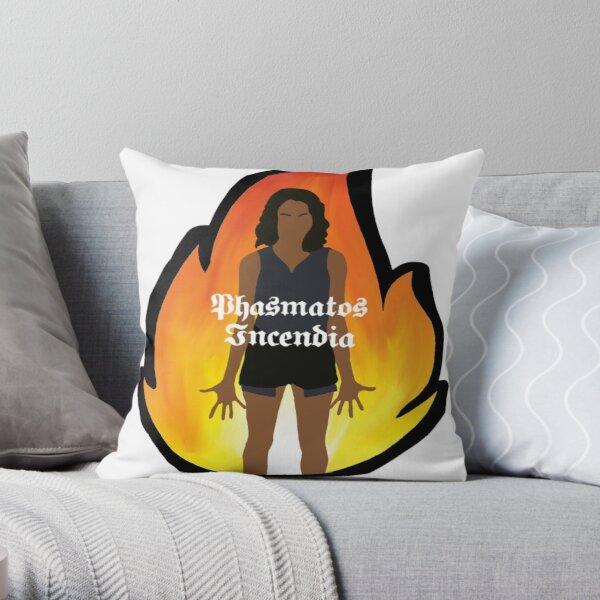 Bonnie Bennett Spells Throw Pillow RB2904product Offical Vampire Diaries Merch