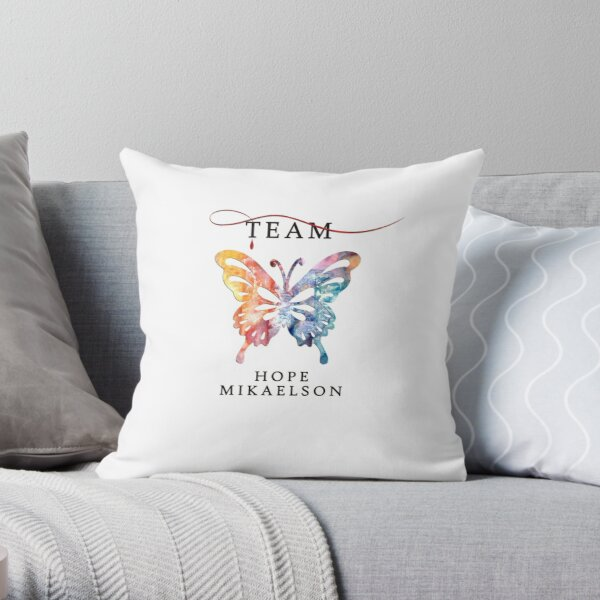 Team Hope Mikaelson - The Originals - Legacies Throw Pillow RB2904product Offical Vampire Diaries Merch