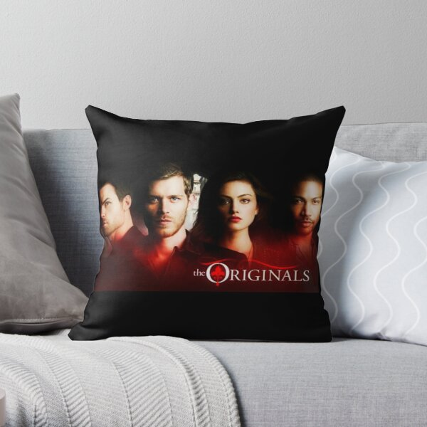 The Originals - Family  - Joseph Morgan - Klaus Mikaelson  Throw Pillow RB2904product Offical Vampire Diaries Merch