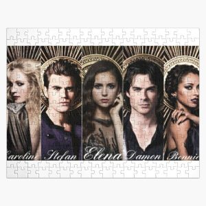 Tvd Cast Photoshoot Jigsaw Puzzle RB2904product Offical Vampire Diaries Merch